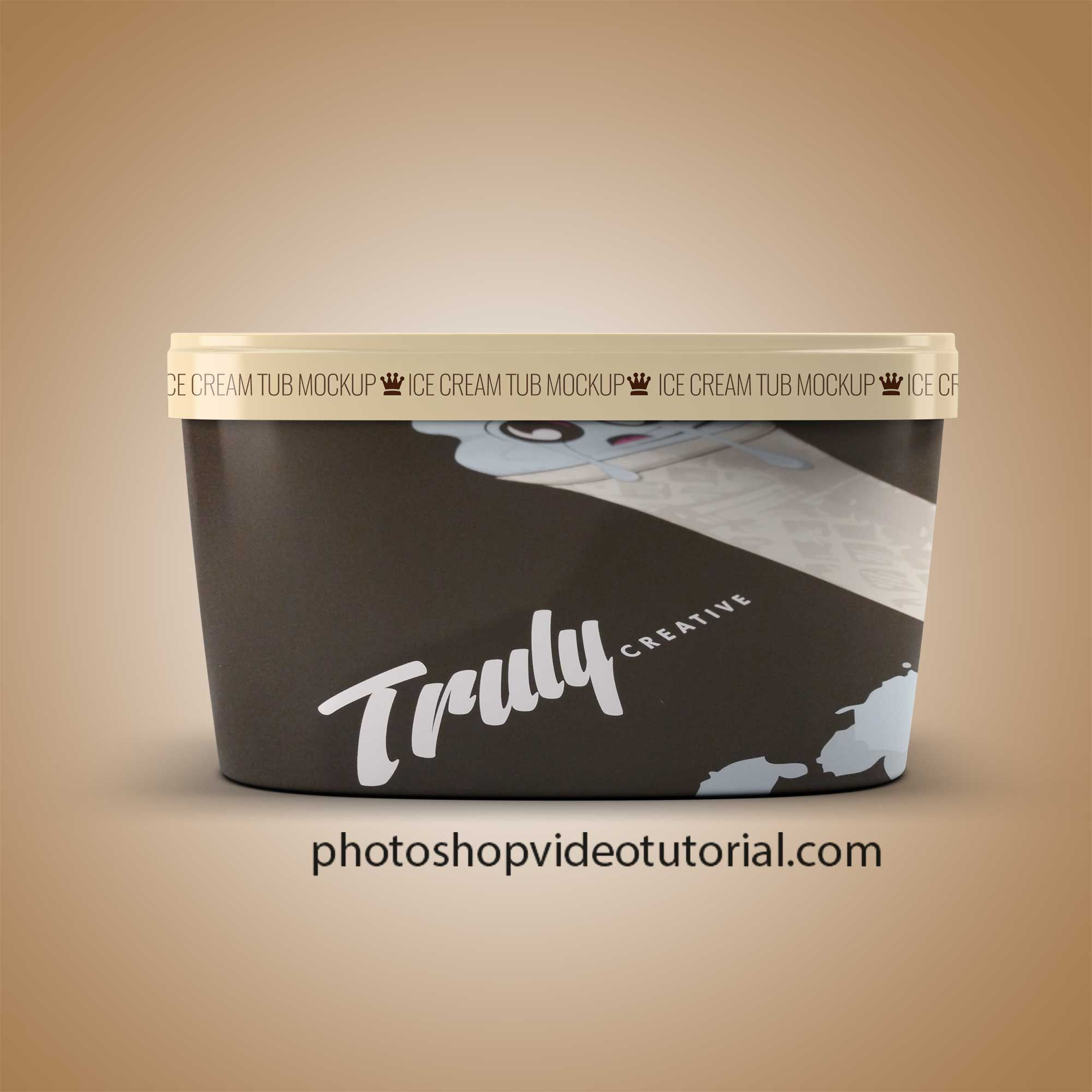 Download Free Ice Cream Container Mockup Branding Containermockup Download Downloadpsd Free Freemockup Freepsd Freebi Mockup Logo Design Mockup Mockup Free Psd