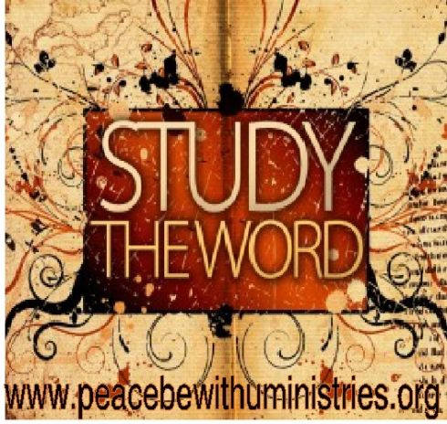 """Nourished By The Word     """"You will be a good servant of Christ Jesus, nourished by words of the faith and of the good teaching that you have followed."""" – 1 Timothy 4:6    The Bible is the ultimate guide for life; make it your guidebook as well.  When you do, you can be comforted in the knowledge that your steps are guided by a Source of wisdom and truth that never fail!      Jesus Loves YOU!     www.peacebewithuministries.org/daily-encouragement"""