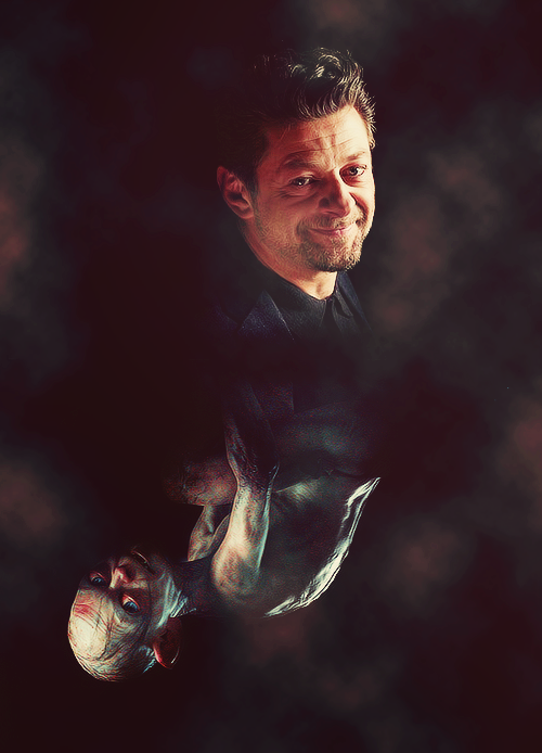 """Andy Serkis as Gollum: """"He's been like a watershed character for me twice in my life now...both times, he's not only been this amazing creature and great character to explore, but has shifted my life."""""""