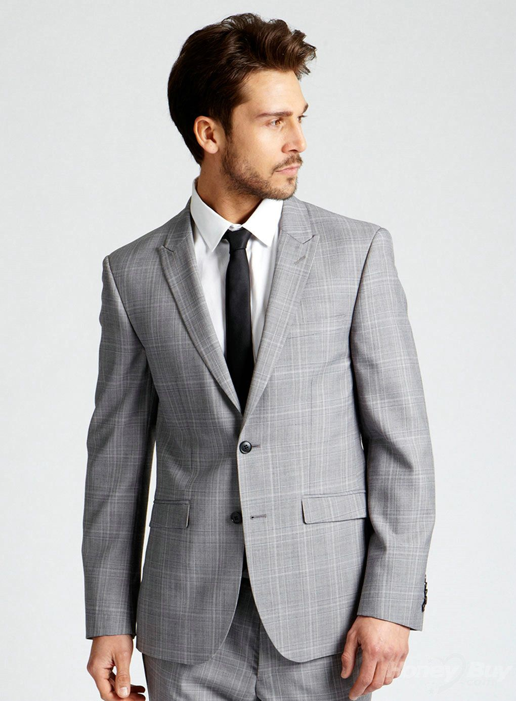 light grey suits wedding - Google Search | Wedding | Pinterest