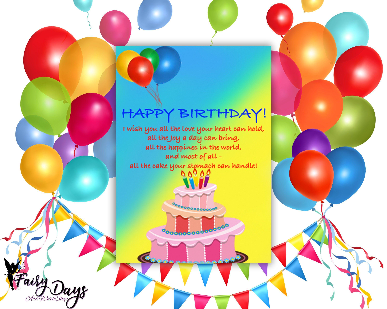 Fun Birthday Card Birthday Card Templates Birthday Card Template Forbirthday Card Edit Birthday Card Template Unique Birthday Cards Editable Birthday Cards