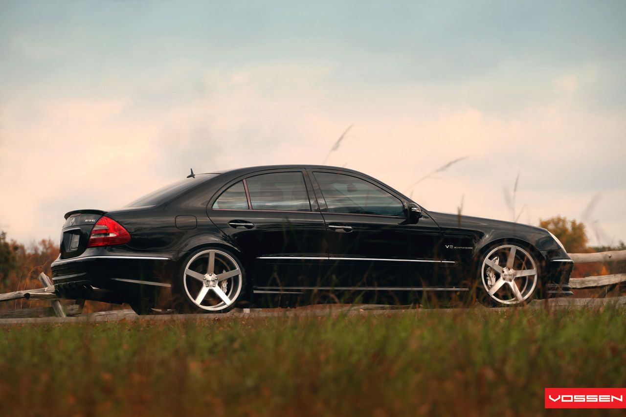 Mercedes Benz E 55 Amg W211 On Vossen Wheels Photo Collection