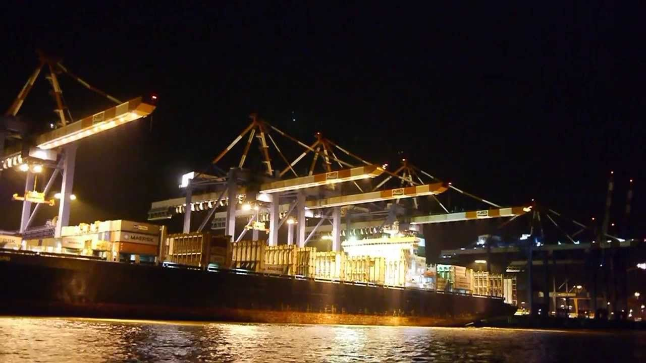Container Terminal Bremerhaven - Full HD 1080p