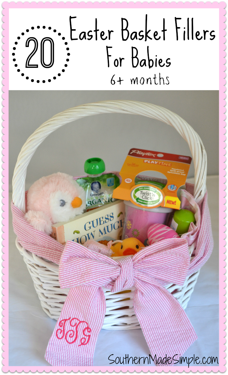 20 easter basket fillers for babies easter baskets easter and babies 20 easter basket filler ideas for babies negle Images