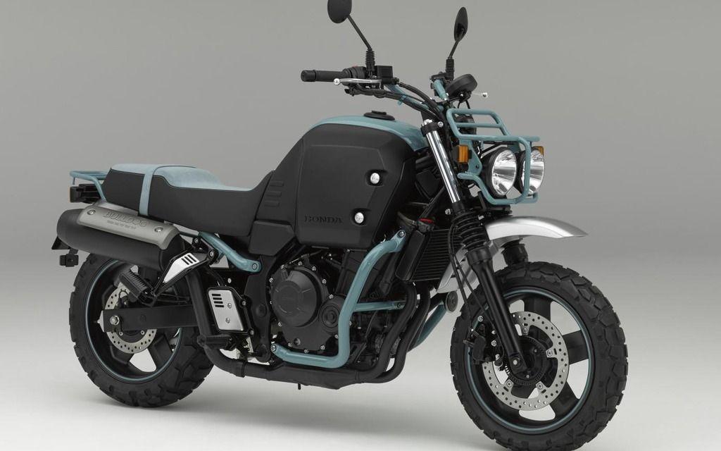 Honda Bulldog: un autre concept flyé? - Moto Journal