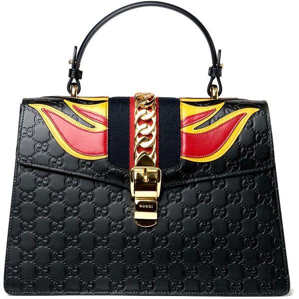 08a6a47da43 Gucci Sylvie Embossed Flame Bag ( 3