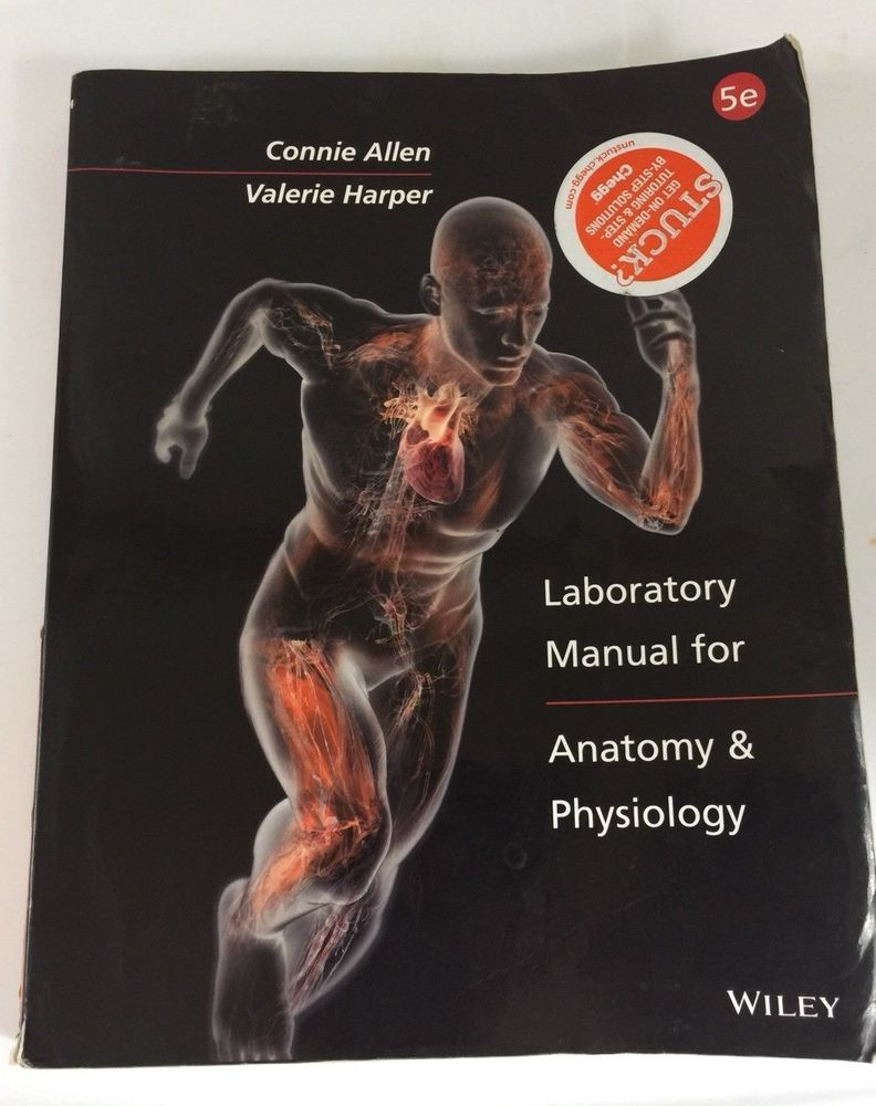 Laboratory Manual For Anatomy And Physiology - Connie Allen #Textbook