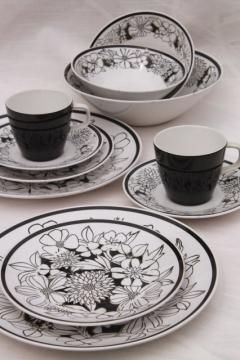 Vintage China Dishes And Dinnerware Dinnerware Set Ceramic Tableware Modern Tableware