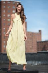 Gorgeous dress by Mina Stone