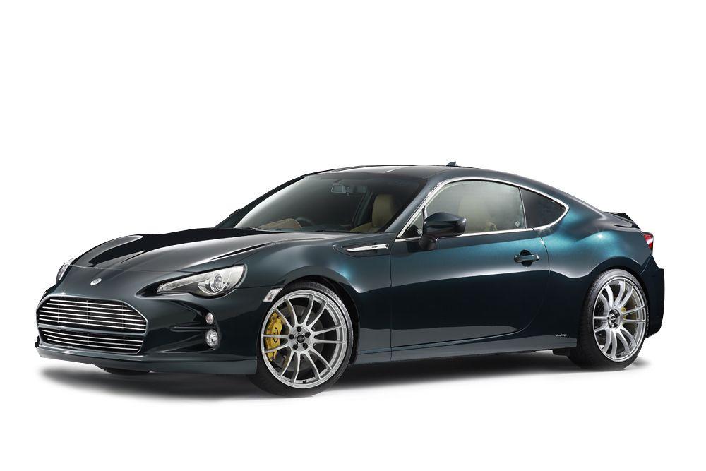 Damd Toyota Gt86 Inspired By Aston Martin Carscoops Toyota Gt86 Toyota Aston Martin