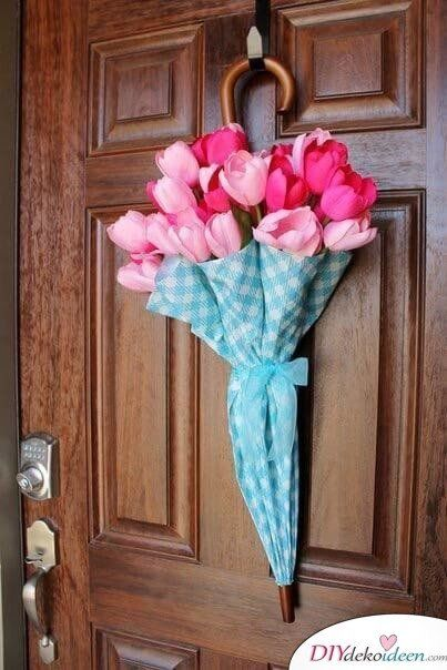 Photo of 25 craft ideas spring door wreath – this is how you can make a spring door wreath yourself
