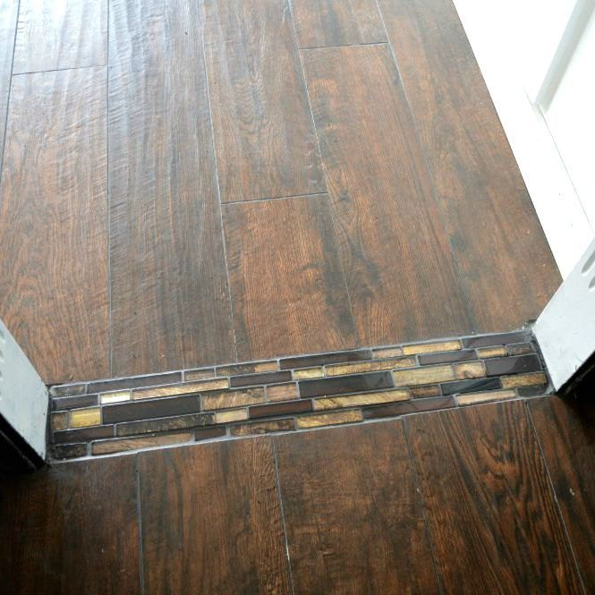 Cheap Kitchen Flooring Ideas Part - 17: Image Result For Diy Floor Transition Long
