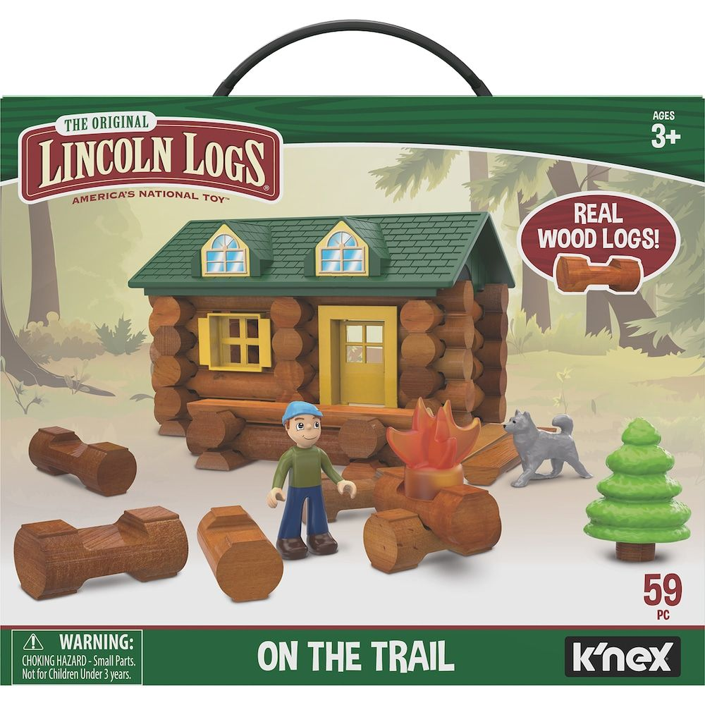 Lincoln Logs On the Trail Building Set Lincoln logs