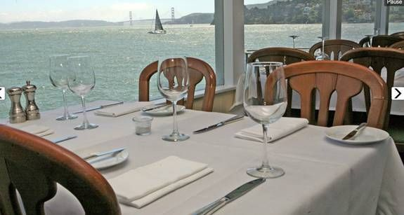 San Francisco Restaurant Dining Cafe Or Bar With A View