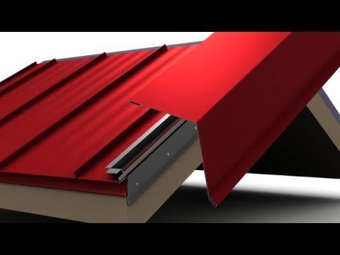 How To Install Metal Roof Rake Trim For Unionu0027s MasterRib Panel.   YouTube