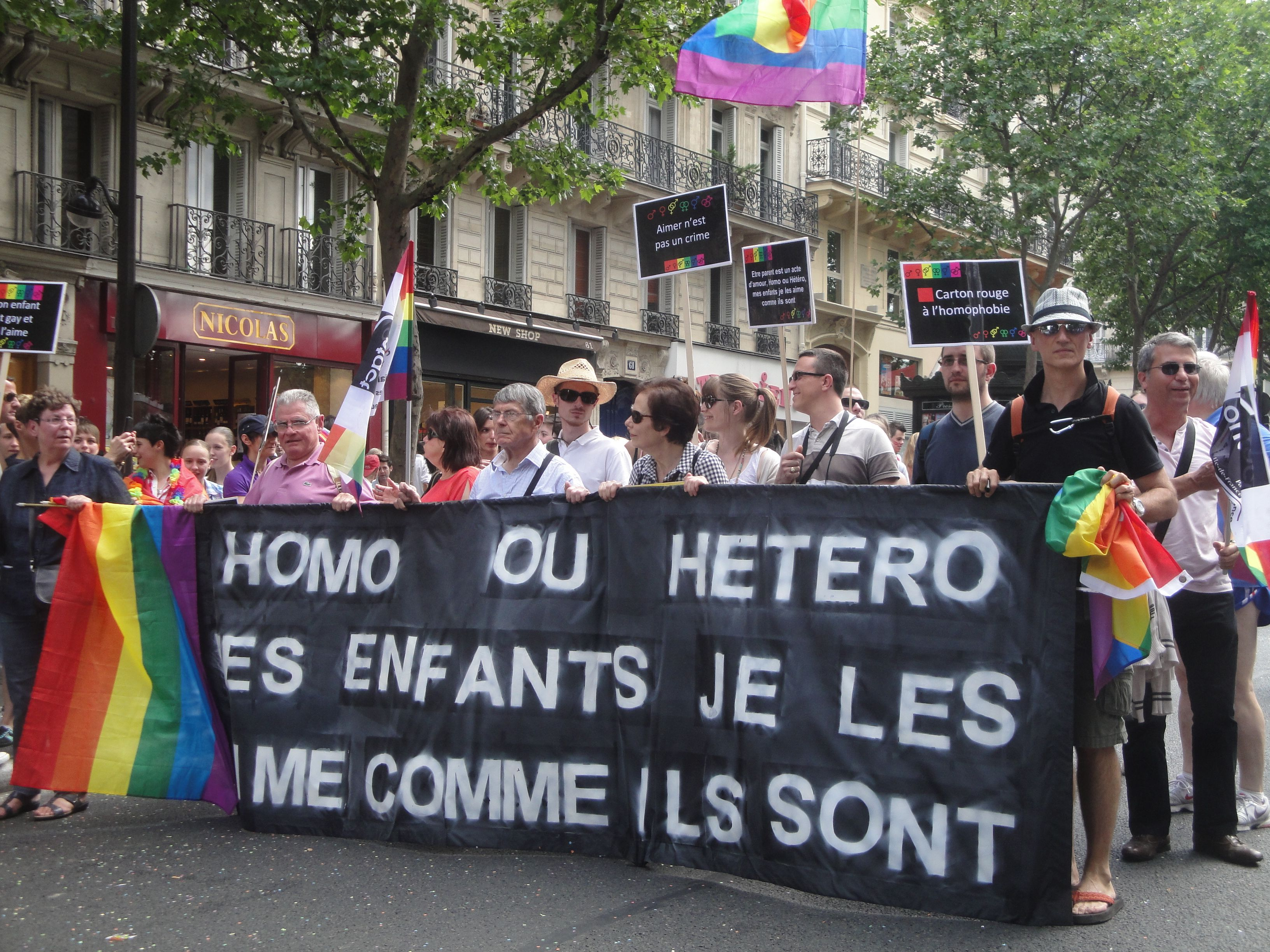 gay pride, every year