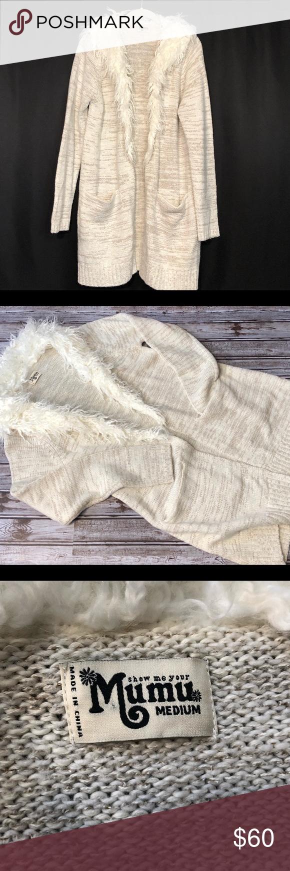 Show Me Your MuMu open cardigan sweater Open cardigan