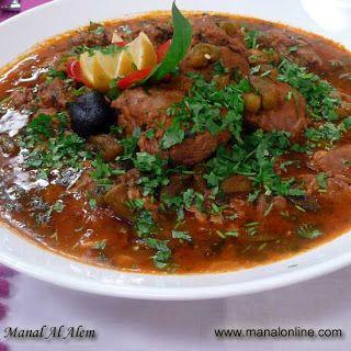 يخنةالبامية Egyptian Food Middle Eastern Recipes Lebanese Recipes