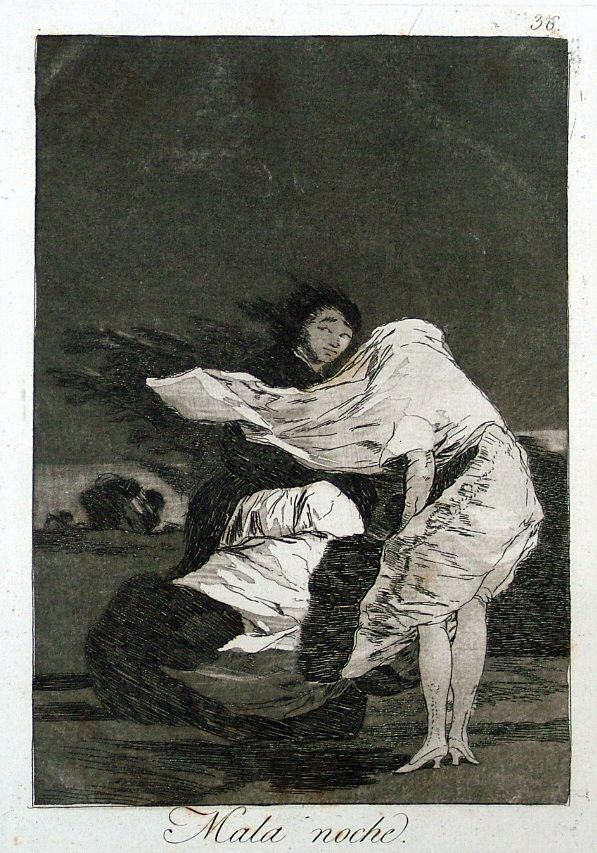 Three Caprichos Nos.9,8,3 Goya Prints Fine Art Prints