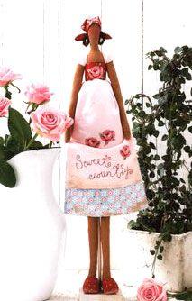Кукла Тильда. Девушка-садовница. Как сшить куклу Тильда ...