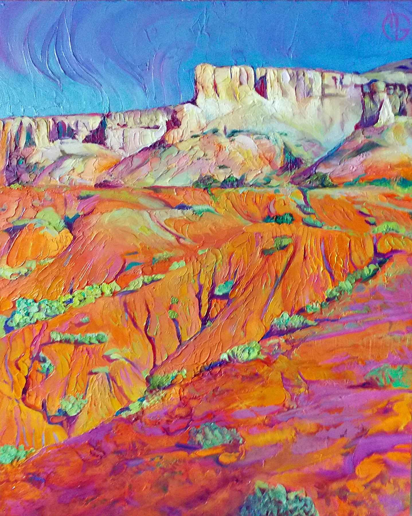 Pin By Viva On New Mexico Landscapes Painting Art House Painting