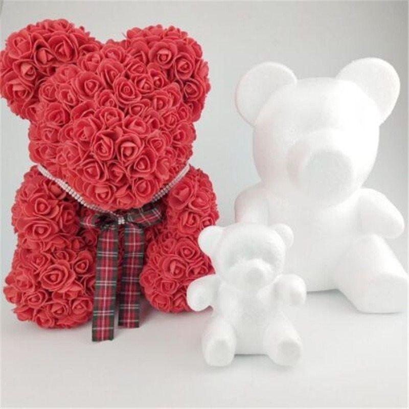 Wedding Decor Heart Foam Mould White Craft Balls Styrofoam Valentine/'s Day