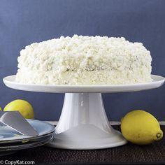 Olive Garden Lemon Cream Cake Recipe Lemon Cream Cake Lemon Cream Cream Cake
