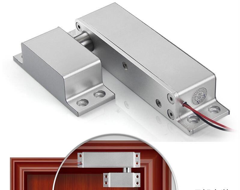 Cheap Price DC10V~15V 450mA Aluminum Door And Gate Access Control  Electrical Deadbolt Lock