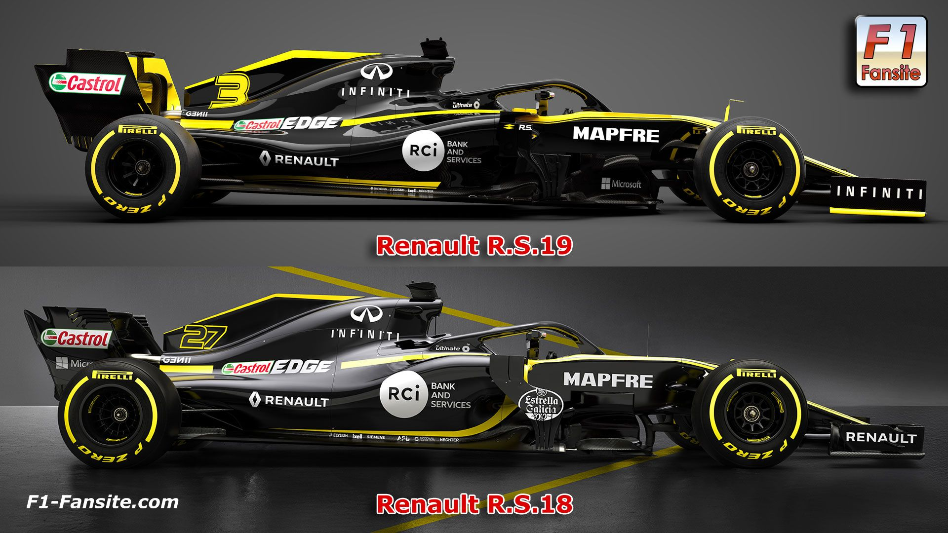 Renault R S 19 Launch F1 team interviews | F1-Fansite com