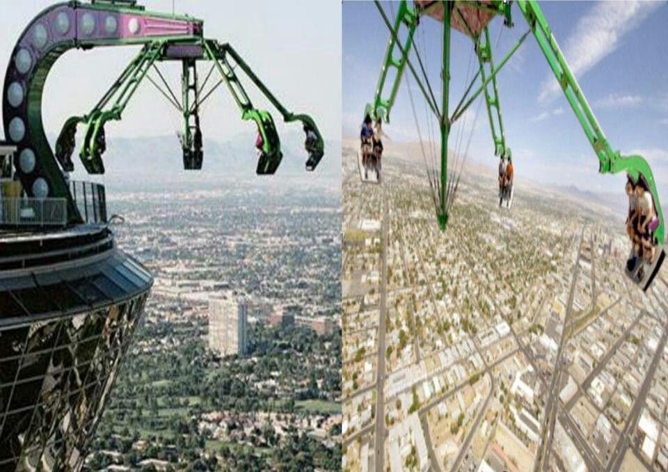 Stratosphere Tower Roller Coaster, Las Vegas | Bucket List ...