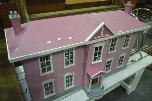 Pink Painted Doll House