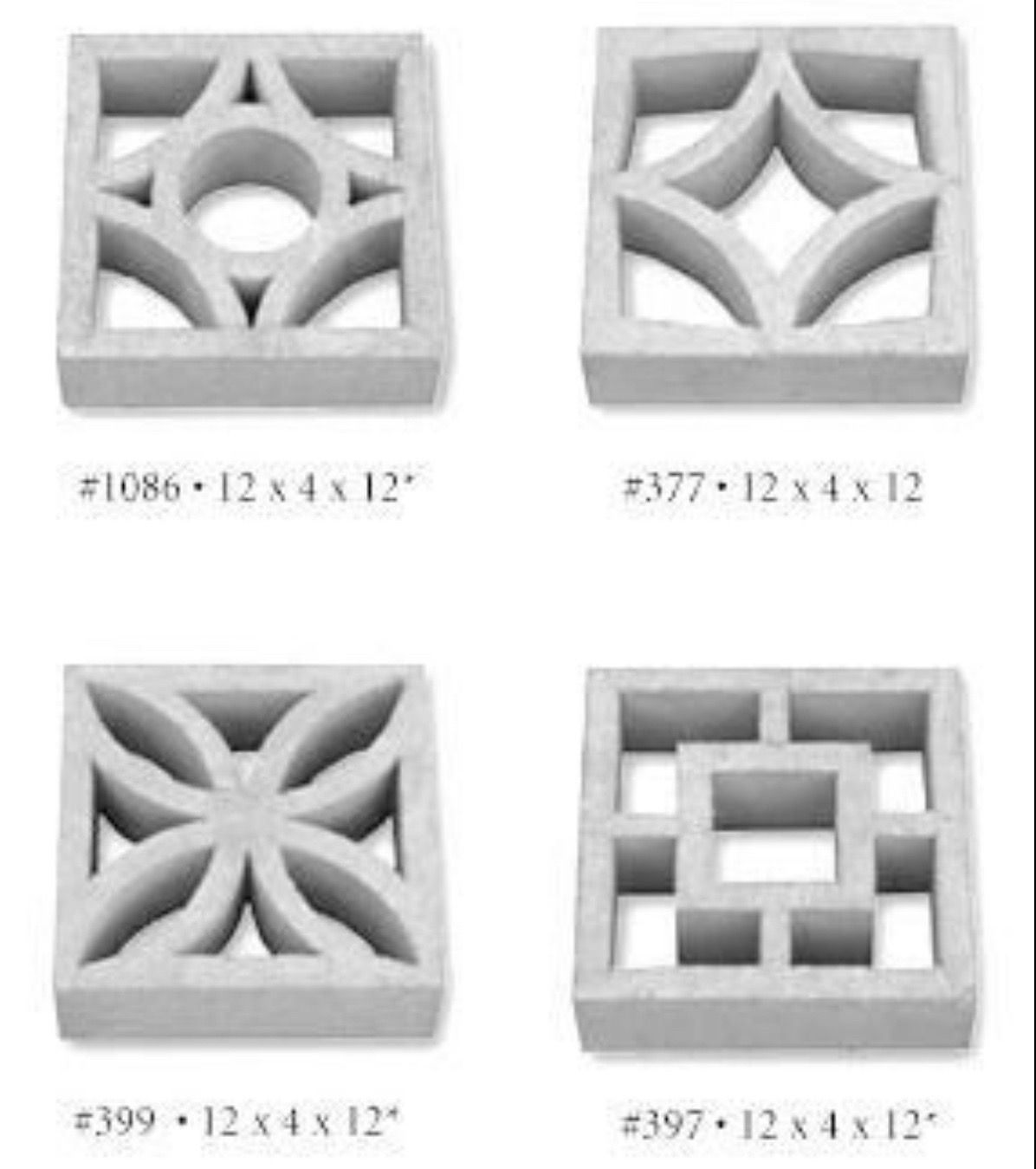 decorative masonry block.htm pin by r o o s t on roost retro  with images  concrete decor  concrete decor