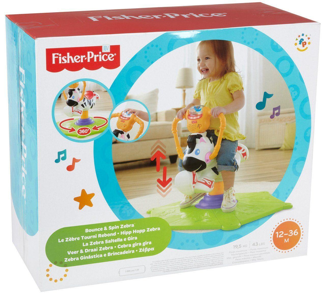 San Francisco original de premier ordre matériaux de qualité supérieure Fisher-Price - Jouet d'Eveil Premier Age - Zebre Tourni ...