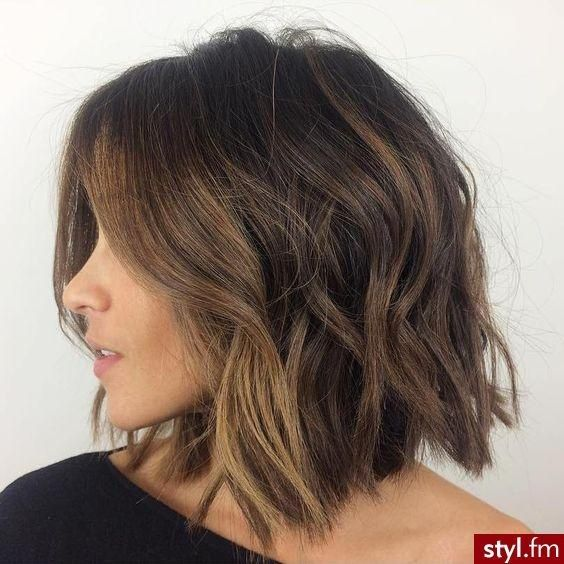 Hairstyles For Thick Wavy Hair Amazing Carrées 2016  Les Meilleures Idées À Piquer   Hair Style
