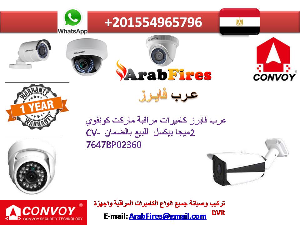 عرب فايرز كاميرات مراقبة ماركت كونفوي 2ميجا بيكسل للبيع بالضمان Cv 7647bp02360 Camera