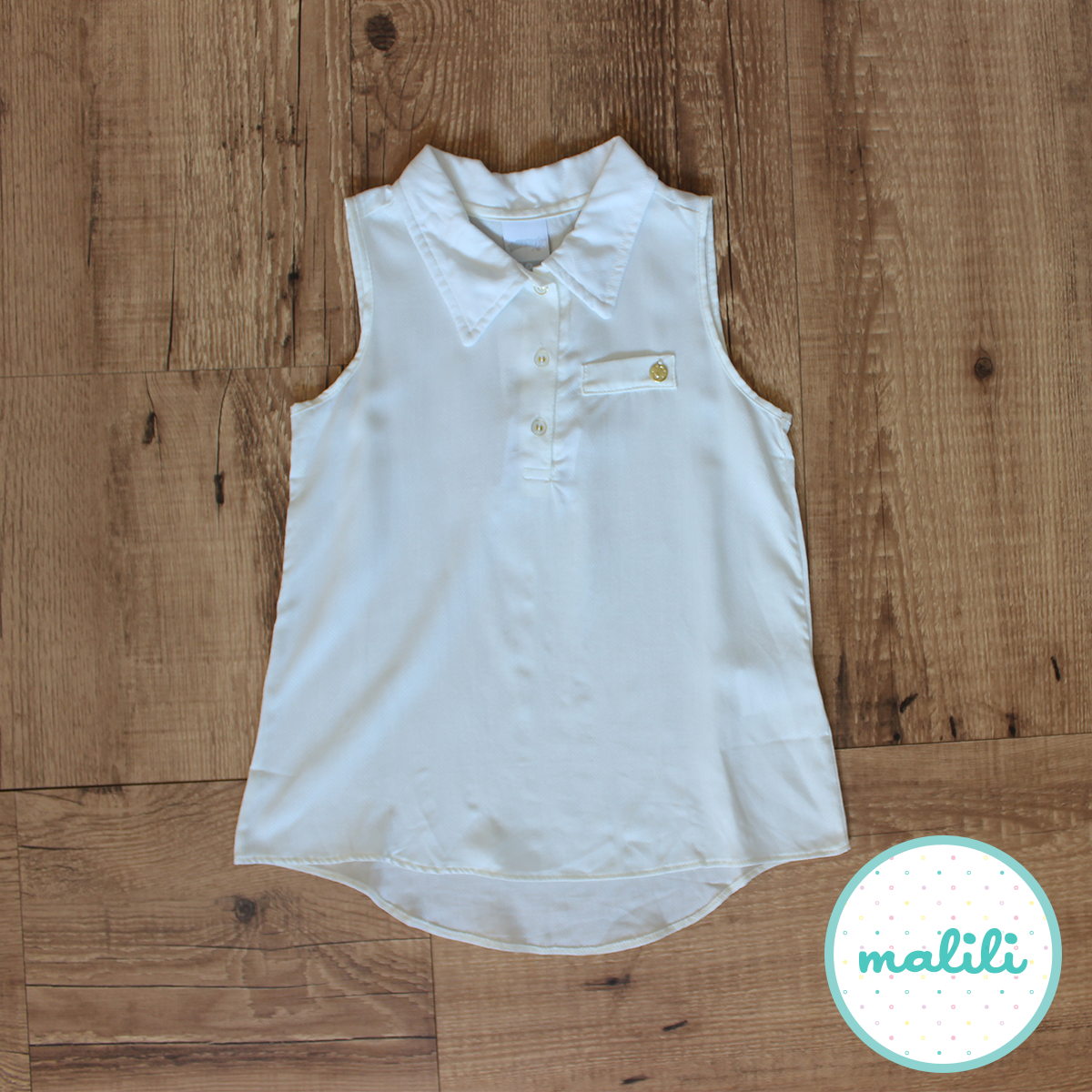 Blusa Branco (Código 43744) R$ 44,90