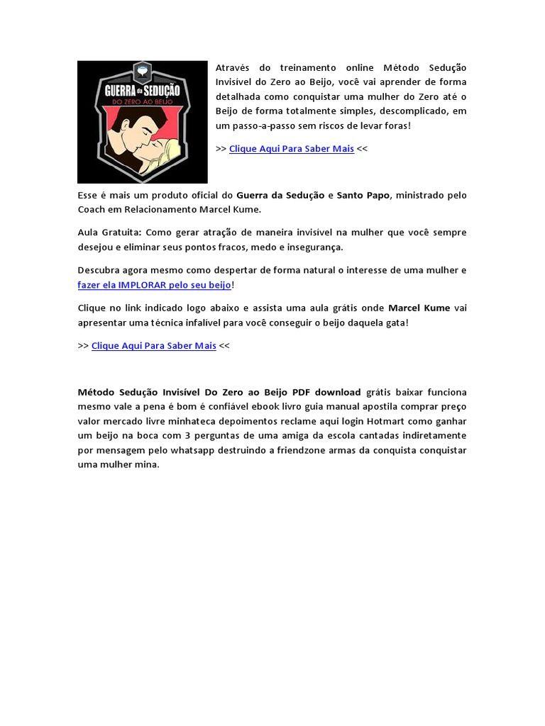 Pin De Marketing Online Em Cursos Ebooks Digitais Pdf Seducao
