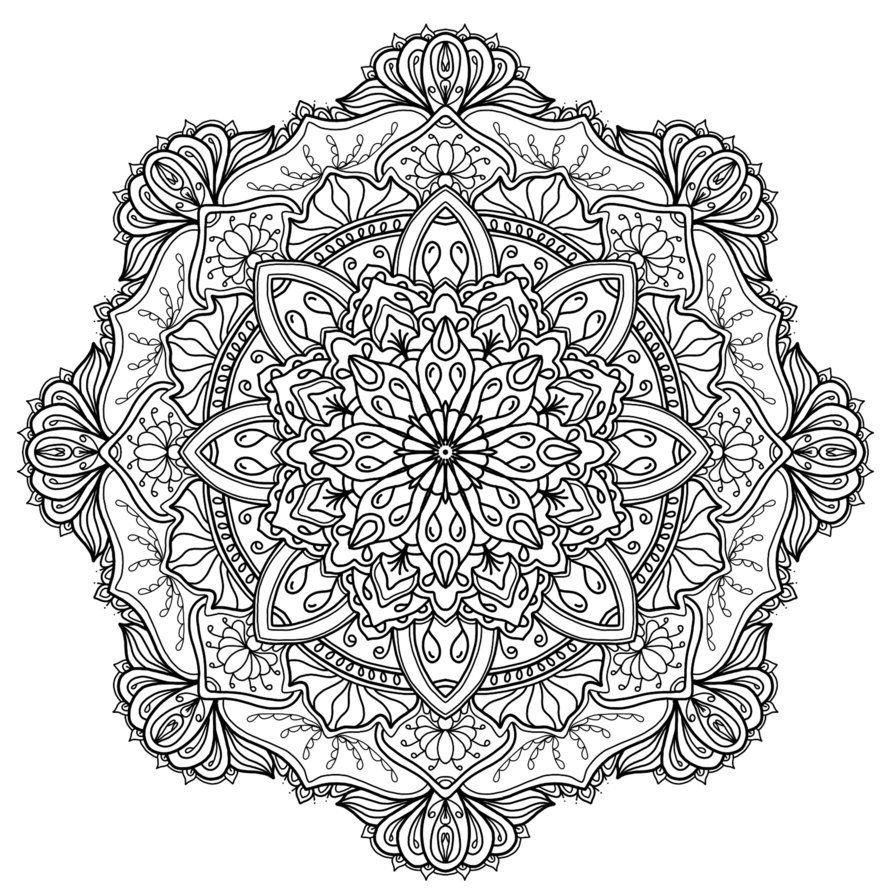 Een projectjes voor : http://kleurvitality.blogspot.be | Mandalas ...