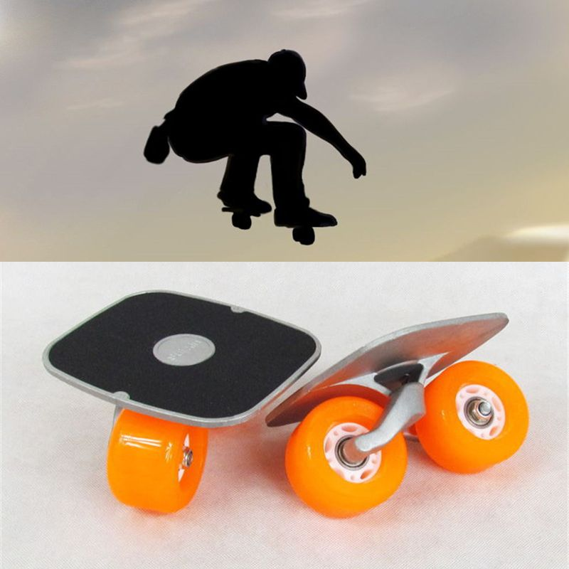 Draagbare Drift Board Voor Freeline Roller Road Driftboard Skates Anti-skid Skateboard board Sport