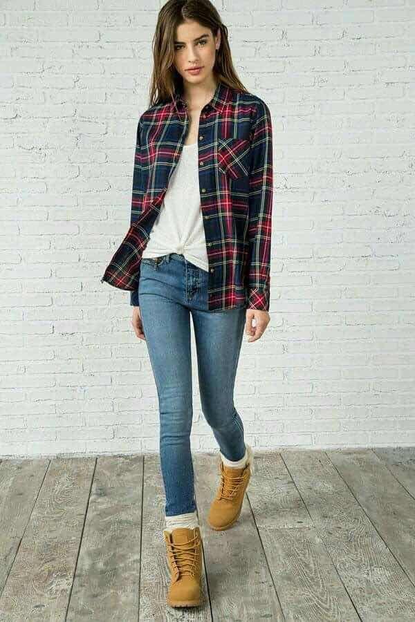 31 Ideas de Outfits con Botas Timberland de Mujer (2018