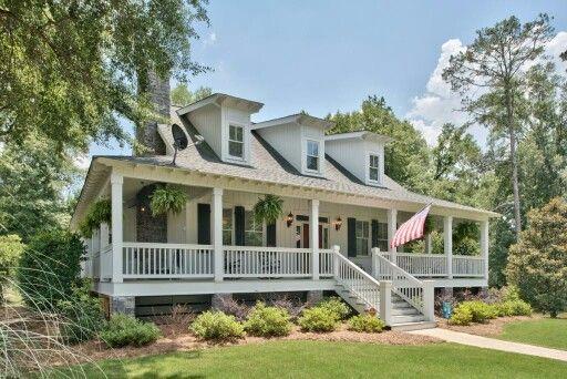love the wraparound porch cape cod style exterior ideas