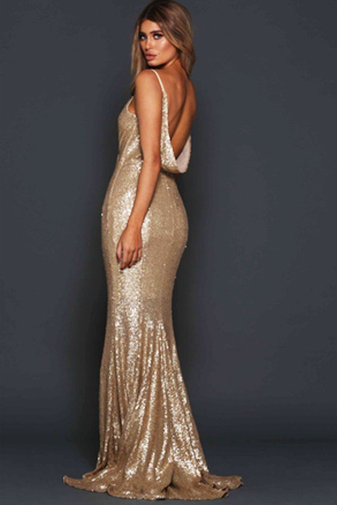 Madden Sequin Gown by Elle Zeitoune - RENTAL | BOHO GLAM | Pinterest ...