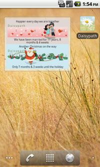 Daisypath App Widget