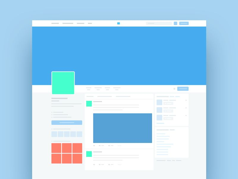 Twitter Template Mockup Perfect For The Task Of Pitching And Presenting New Designs And Campaigns For Soci Twitter Template Twitter Mockup Mockup Template Free
