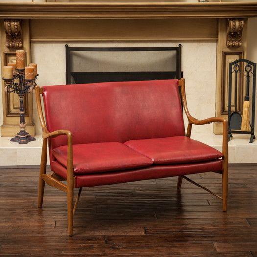 Awesome Home Loft Concepts Rosette Loveseat Allmodern Bedroom Creativecarmelina Interior Chair Design Creativecarmelinacom