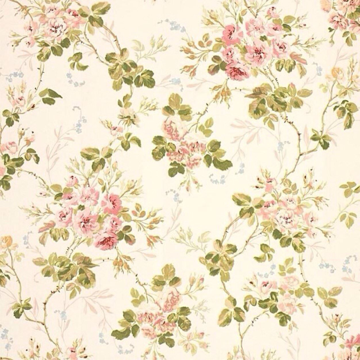 Pin By Beth Beasley Pearson On Wallpaper Vintage Floral Wallpapers Vintage Flowers Wallpaper Vintage Flower Backgrounds