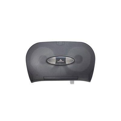 GEORGIA PACIFIC Micro-Twin Toilet Tissue Dispenser in Smoke