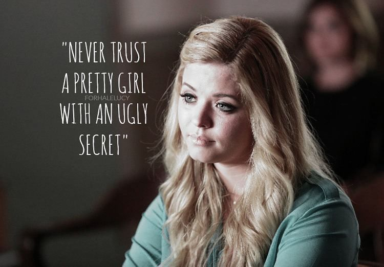 Pin By Megan Deangelis On Pretty Little Liars Quotes Pretty