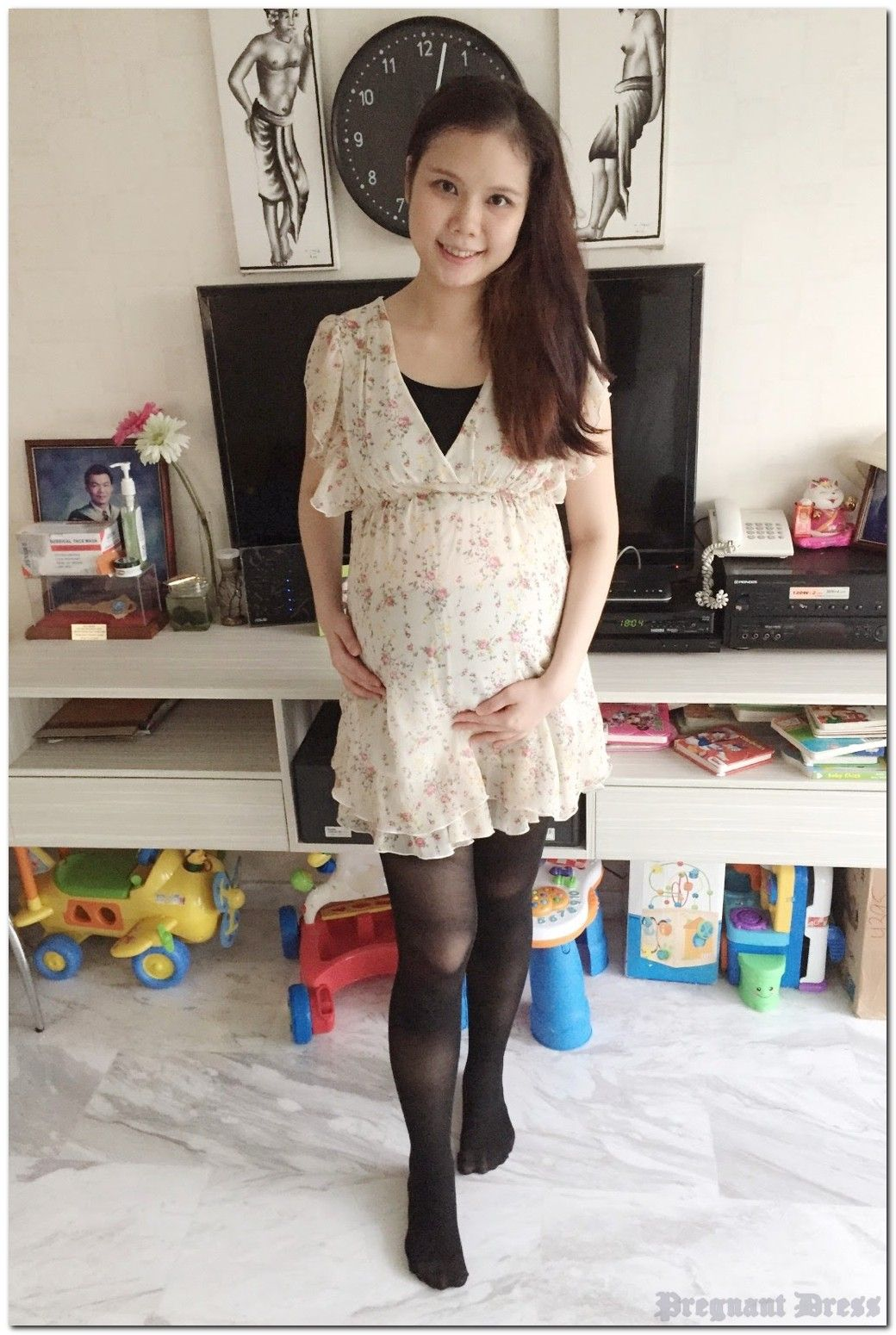 10 Mesmerizing Examples Of Pregnant Dress
