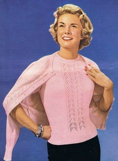 e6a67a1f78c649 That pink mohair twin set I wanted! Too bad, I'll never get here in the  Congo (page 31)